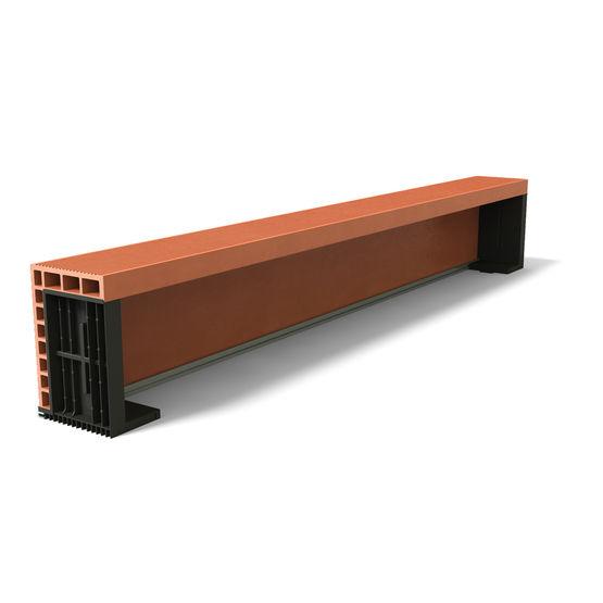 1 2 coffre de volet roulant en terre cuite 1 2 coffre. Black Bedroom Furniture Sets. Home Design Ideas