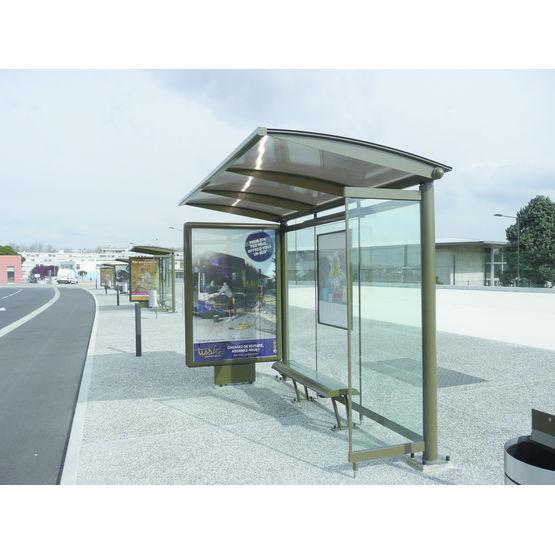 abri bus caisson d 39 affichage abri bus cit concept. Black Bedroom Furniture Sets. Home Design Ideas
