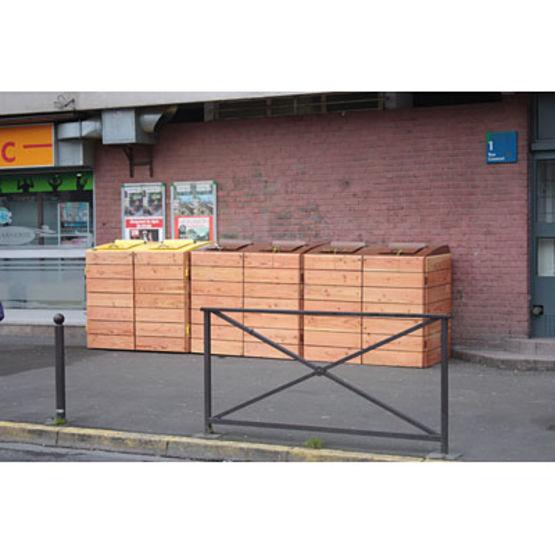 abris conteneurs en acier et bois jusqu 39 750 litres. Black Bedroom Furniture Sets. Home Design Ideas