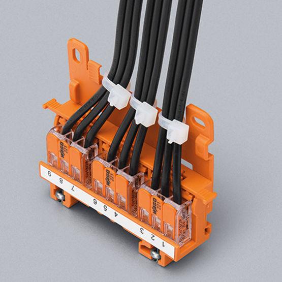adaptateurs de fixation pour mini bornes lectriques levier. Black Bedroom Furniture Sets. Home Design Ideas