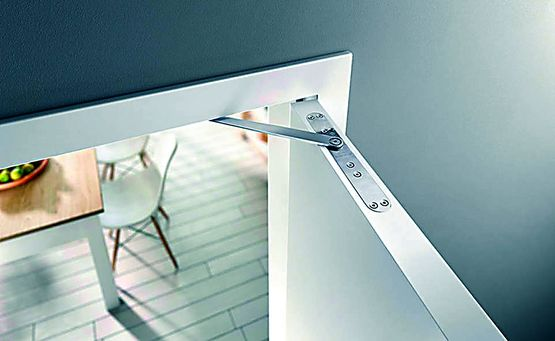 Amortisseur de porte int rieure l 39 ouverture et la fermeture geze - Amortisseur fermeture porte ...