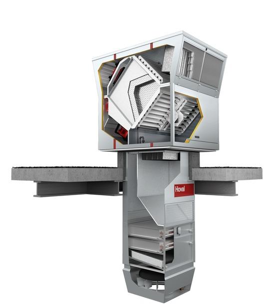 Appareil de ventilation de toit pour système décentralisé ...