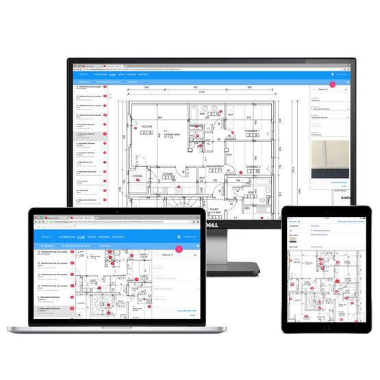 Archipad cloud l application ipad de suivi de chantier for Application de suivi de chantier