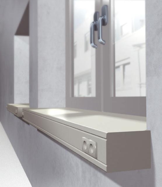 appui de fen tre int rieur avec cache werzalit. Black Bedroom Furniture Sets. Home Design Ideas