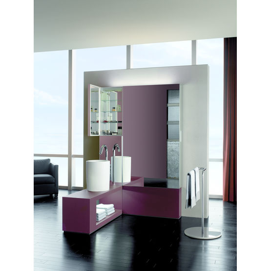 armoire de toilette g ante et banc lavabo mur armoire de toilette keuco. Black Bedroom Furniture Sets. Home Design Ideas