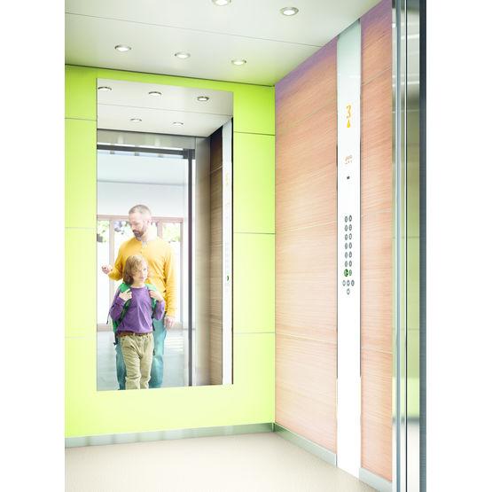 ascenseur pour immeubles r sidentiels et de bureaux monospace 500 kone. Black Bedroom Furniture Sets. Home Design Ideas