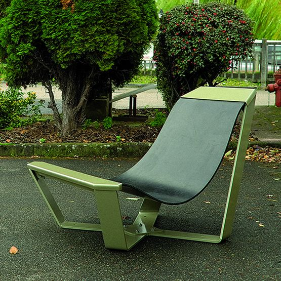 chaise longue caoutchouc