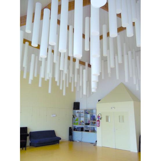baffles acoustiques pour locaux industriels et tertiaires. Black Bedroom Furniture Sets. Home Design Ideas