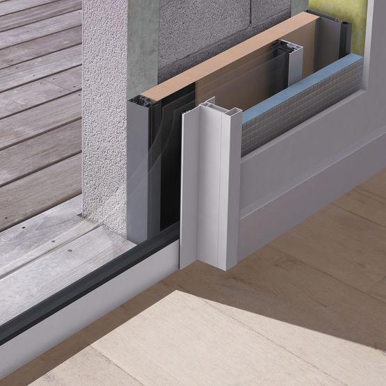 baie galandage pour maison individuelle kl bg k line. Black Bedroom Furniture Sets. Home Design Ideas