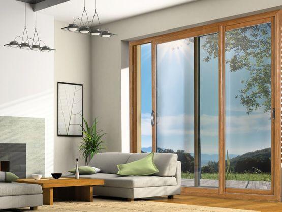 Twinea baie coulissante en composite fibre de verre - Prix vitre fenetre ...