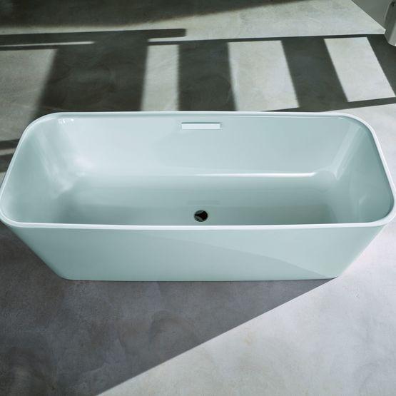 baignoire en acier maill bords fins. Black Bedroom Furniture Sets. Home Design Ideas