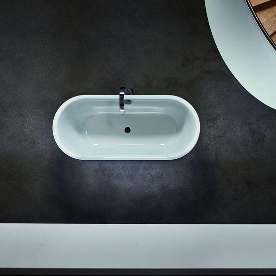 baignoire en acier vitrifi. Black Bedroom Furniture Sets. Home Design Ideas