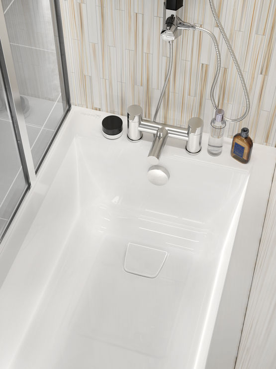 baignoire avec espace bain et douche cosmo aquarine. Black Bedroom Furniture Sets. Home Design Ideas