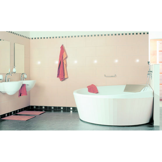 baignoire biplace plage p riph rique inclin e luxxus. Black Bedroom Furniture Sets. Home Design Ideas