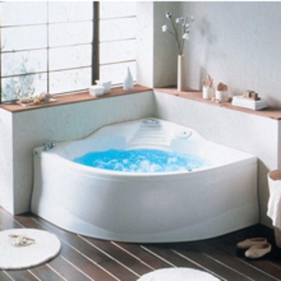 baignoire d 39 angle baln o 240 litres grandform. Black Bedroom Furniture Sets. Home Design Ideas