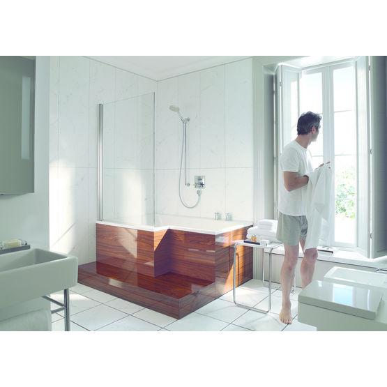 baignoire douche en l pour espaces r duits seadream duravit. Black Bedroom Furniture Sets. Home Design Ideas