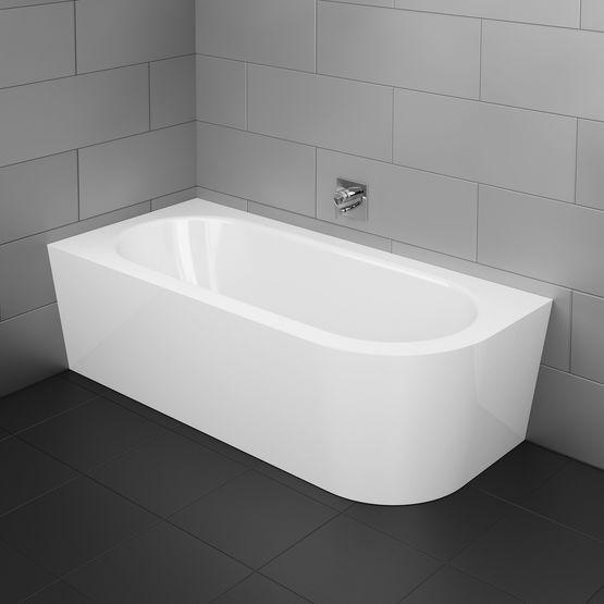 baignoire ovale en ilot murale ou encastrable bords droits ou arrondis. Black Bedroom Furniture Sets. Home Design Ideas