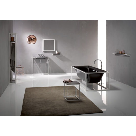 baignoire en lot avec cadre support et cache siphon bette. Black Bedroom Furniture Sets. Home Design Ideas
