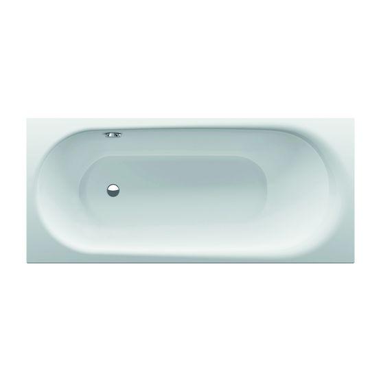 Baignoire encastrable en acier titane vitrifi disponible for Grande baignoire encastrable
