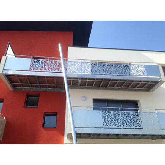 Balcon Et Structure En Acier Sublimant Votre Extérieur: Balcons En Acier Personnalisables