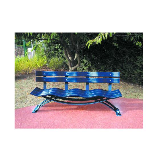 banc assise et dossier ondulants vague i novatis. Black Bedroom Furniture Sets. Home Design Ideas