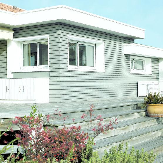 bardage aspect claire voie en bois massif verniland aspect claire voie fp bois. Black Bedroom Furniture Sets. Home Design Ideas
