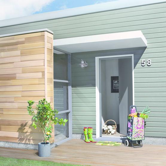 bardage en bois peint d 39 aspect mat silverwood extra univers min ral silverwood groupe isb. Black Bedroom Furniture Sets. Home Design Ideas