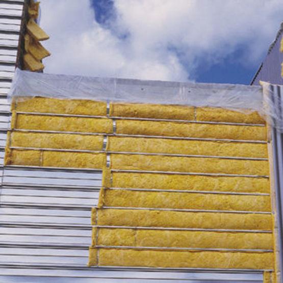 bardage isolant double peau en acier avec suppression de pont thermique. Black Bedroom Furniture Sets. Home Design Ideas
