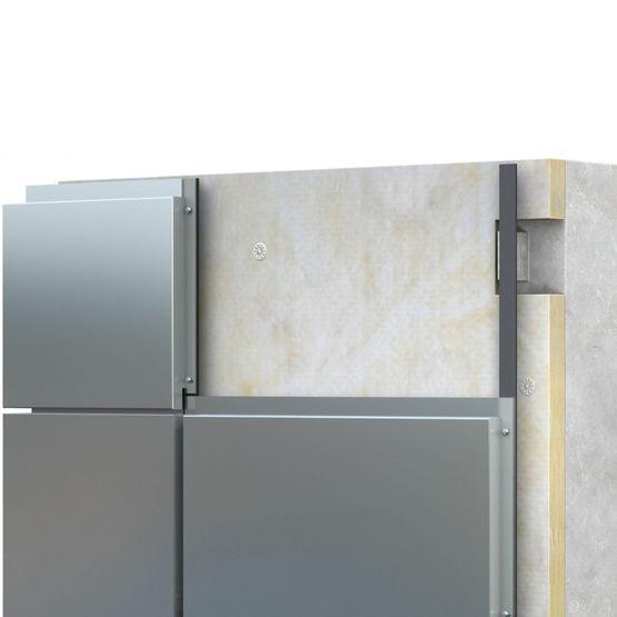 bardage pli fix en fond de joint creux pour calepinage vertical et horizontal neptune acodi. Black Bedroom Furniture Sets. Home Design Ideas