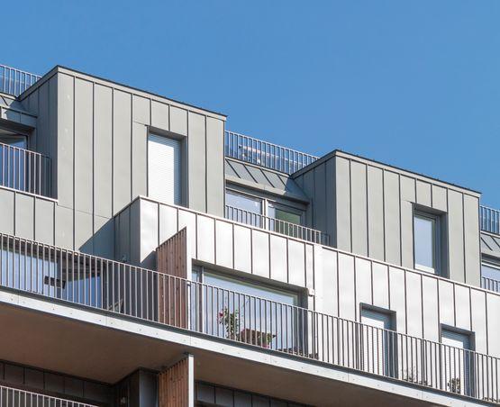 bardage rapport joints debout en acier styl 39 inov fa ade priv sa styl 39 inov. Black Bedroom Furniture Sets. Home Design Ideas