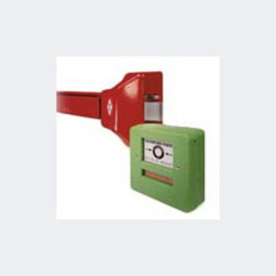Barre antipanique asservie pour issues de secours s rie - Porte issue de secours avec barre anti panique ...