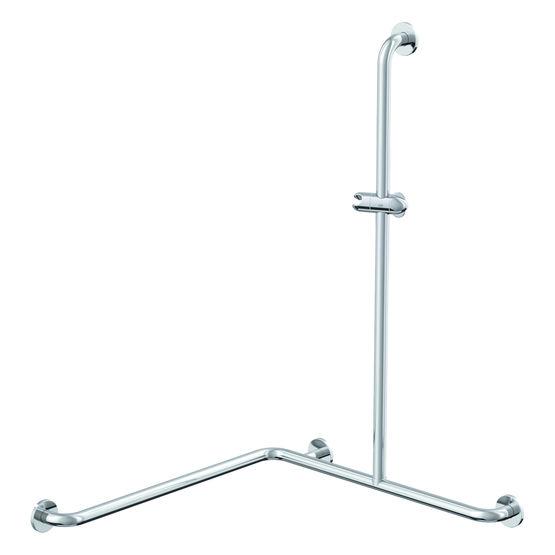 barre de douche horizontale avec curseur 90 en laiton chrom r957 01 01 odf. Black Bedroom Furniture Sets. Home Design Ideas