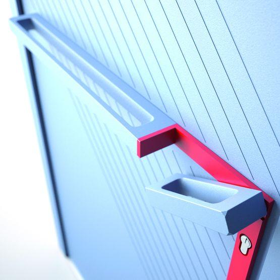 Cool Barre De Tirage Pour Porte Duentre Poigne Intgre Ekyss With Poigne De Porte  D Entre Design