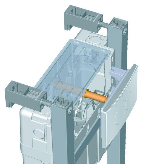 bati support autoportant ou en applique pour wc suspendus quickfix 002395603 product maxi 5 Unique Applique Pour toilette Iqt4