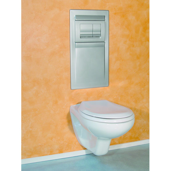 Bâti-support compact pour WC