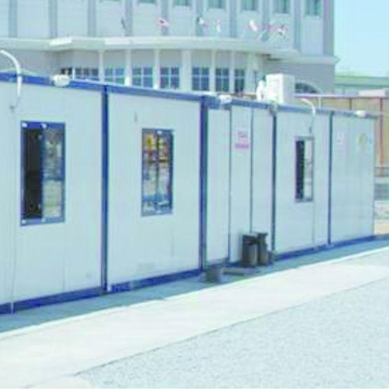 B timent modulaire superposable pour bureaux ou dortoirs for Batiment container