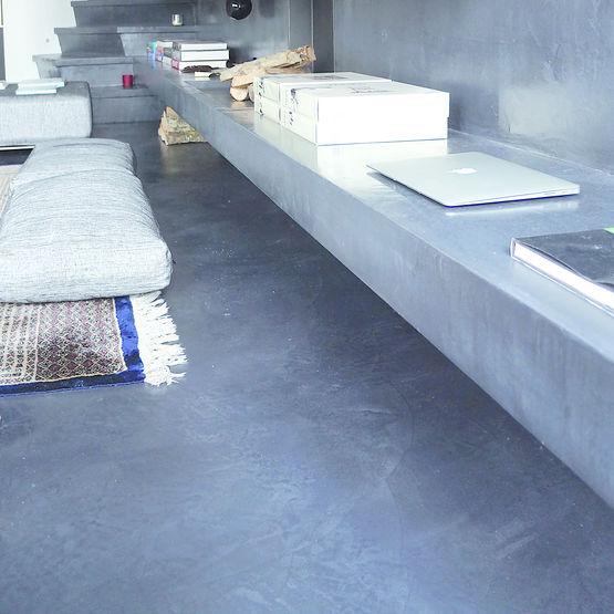 B ton cir d coratif pour murs et sols arts beton design - Epaisseur beton cire ...