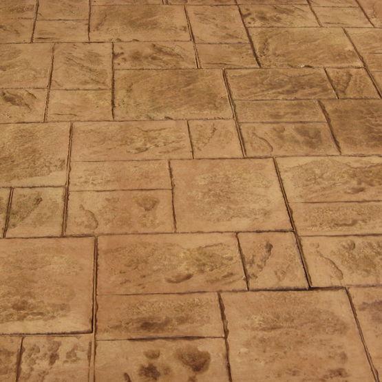 B ton d sactiv ou imprim b ton d coratif fehr for Beton cire ou beton mineral