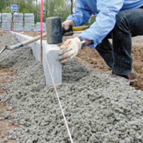 B tons pour travaux de vrd cxb vrd can167 cemex b tons - Pose bordure beton jardin ...