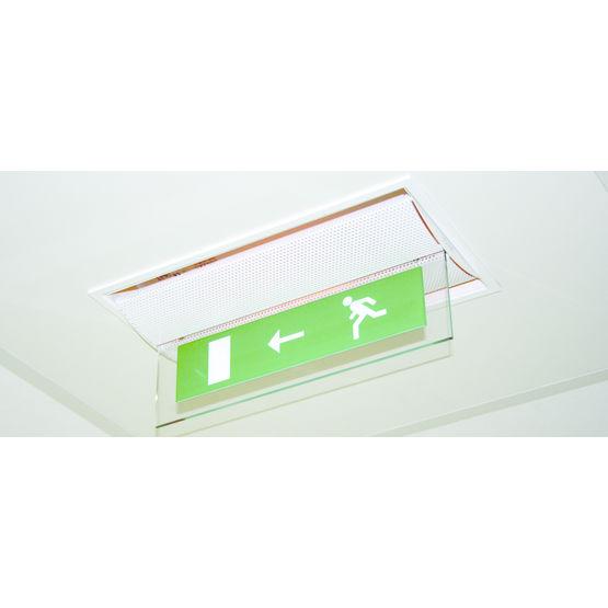 bloc autonome d 39 clairage de s curit pour plafond. Black Bedroom Furniture Sets. Home Design Ideas
