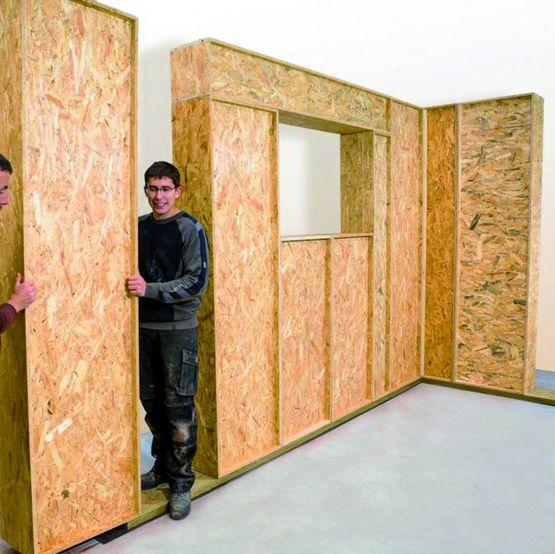 Bloc autoportant isol pour construction bois modulaire for Bloc construction bois