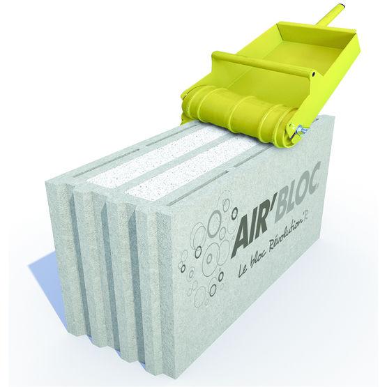 bloc b ton isolant min ral int gr air 39 bloc perin et cie. Black Bedroom Furniture Sets. Home Design Ideas