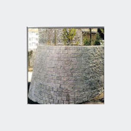 Bloc b ton de grandes dimensions pour murs de sout nement megadarmur etablissements robin - Bloc beton pour talus ...