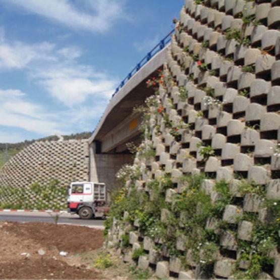Bloc b ton pour mur jusqu 39 10 m de hauteur atalus 120 atalus - Bloc beton pour talus ...