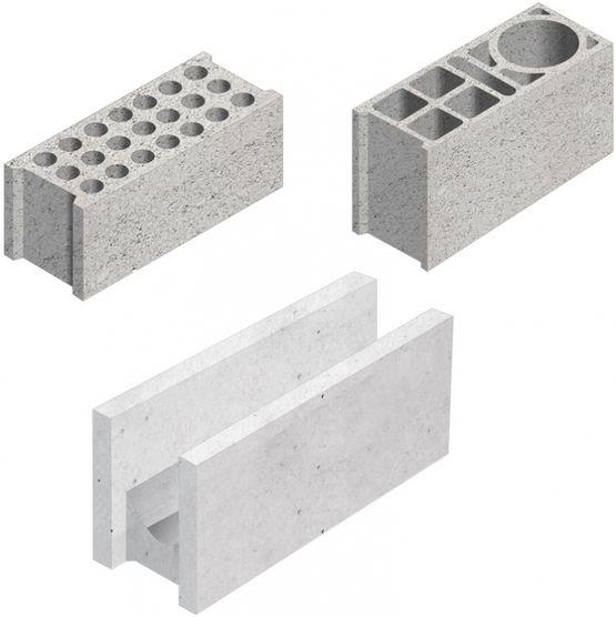 Bloc creux de 50 cm de longueur socramat fabrication - Bloc beton creux ...