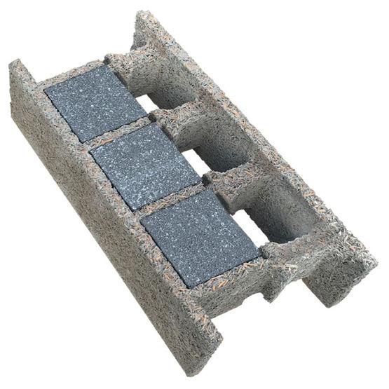 bloc de b ton isolant ite int gr e pour toutes zones sismiques thermibloc 38 16 n xelis. Black Bedroom Furniture Sets. Home Design Ideas
