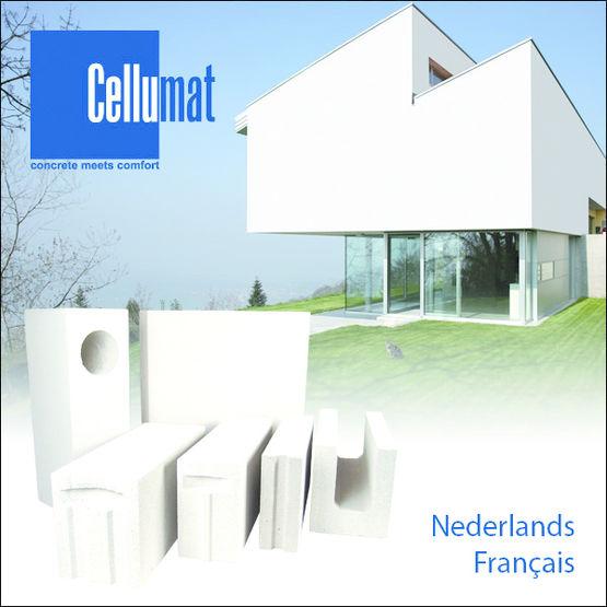 bloc monomur isolant en b ton cellulaire energiebloc cellumat. Black Bedroom Furniture Sets. Home Design Ideas