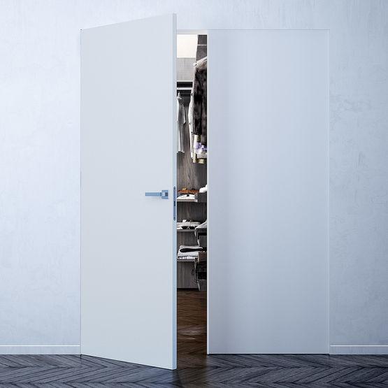 bloc porte fleur de mur effet invisible. Black Bedroom Furniture Sets. Home Design Ideas