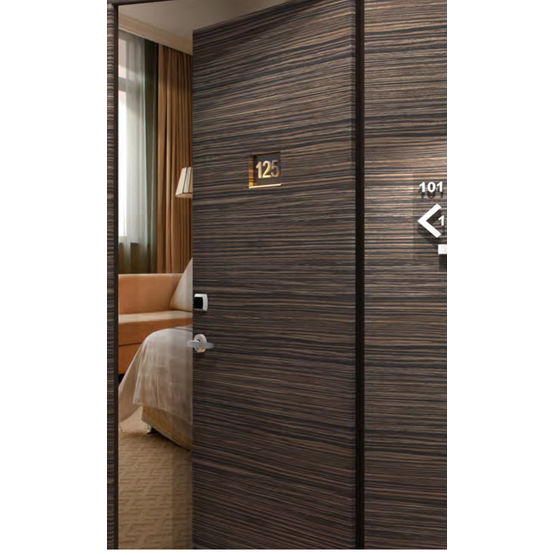 Bloc porte de chambre d h tel isolation acoustique - Isolation phonique porte d entree ...