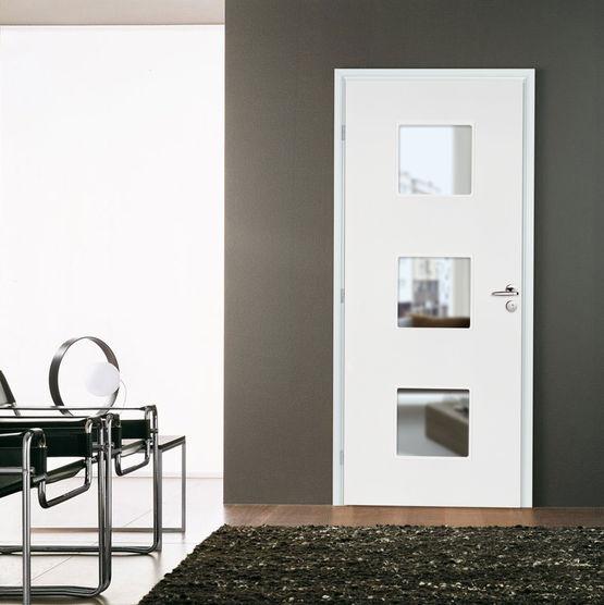 Bloc porte righini graphik avec huisserie en mdf hydrofuge for Ou acheter des portes